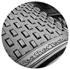 Gray Rubber Floor Mats With Pattern