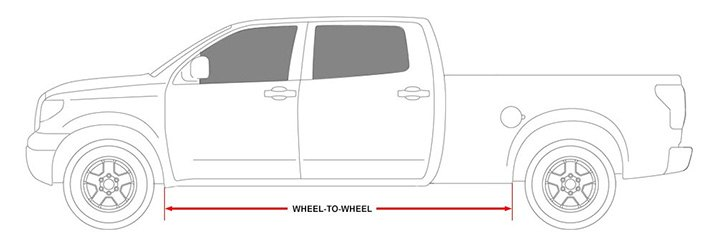 Wheel-To-Wheel Coverage Running Boards