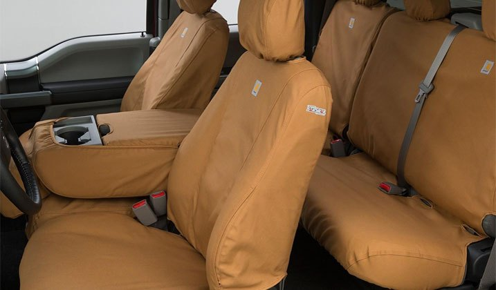 Seat Covers Tailored For Work Trucks