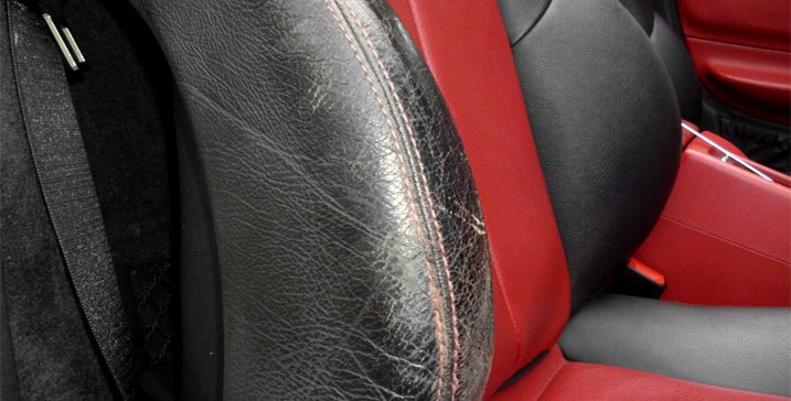 Worn-Looking Seats