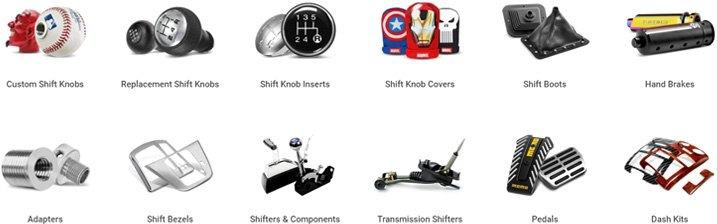 Shift Knobs Category Variety Of Options