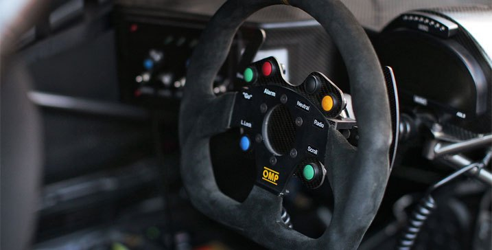 OMP Racing Steering Wheel