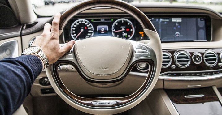 Stylishly Upgraded Replacement Steering Wheel