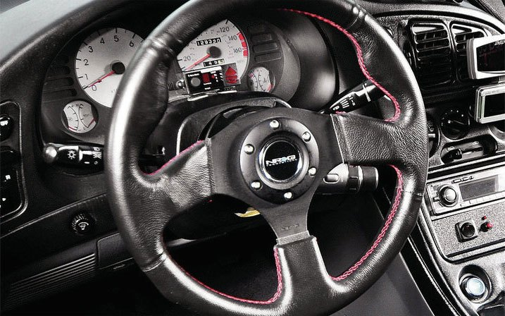 Upgraded Steering Wheel