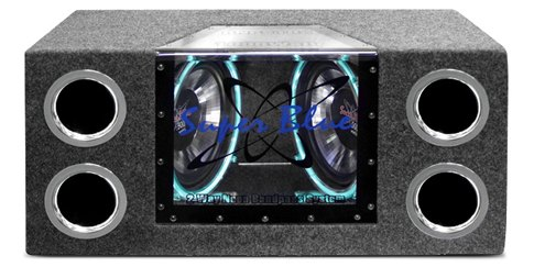 The Pyramid BNPS102 - 10 inches 1000W Dual Bandpass Speaker System - CARiD