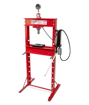 OEM Tools 20-Ton Air Hydraulic Shop Press