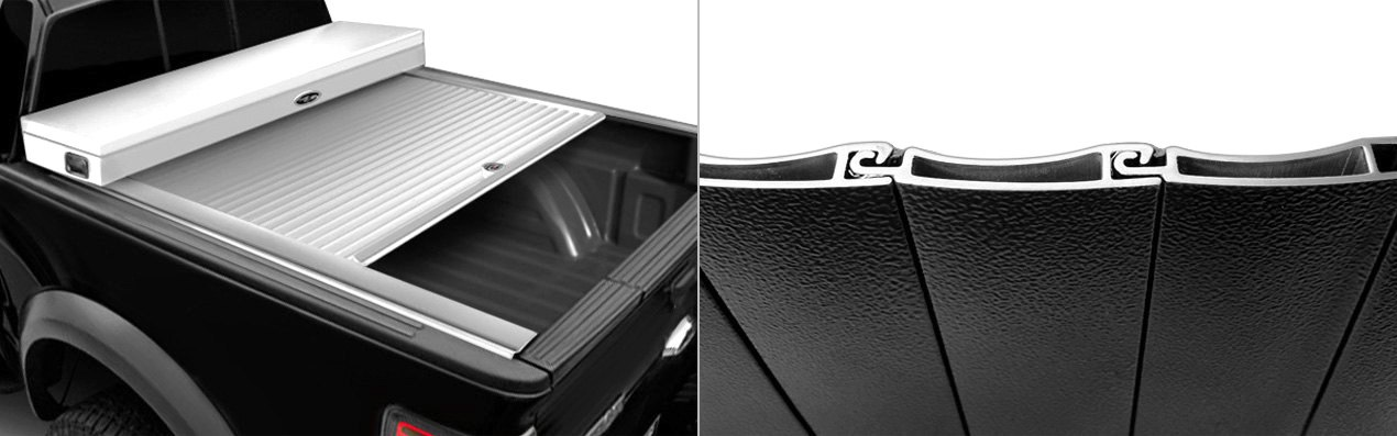 American Work Retractable Tonneau Cover