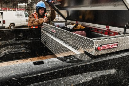 Trailer Tool Boxes Provide Extra Lockable Space Where You Need It