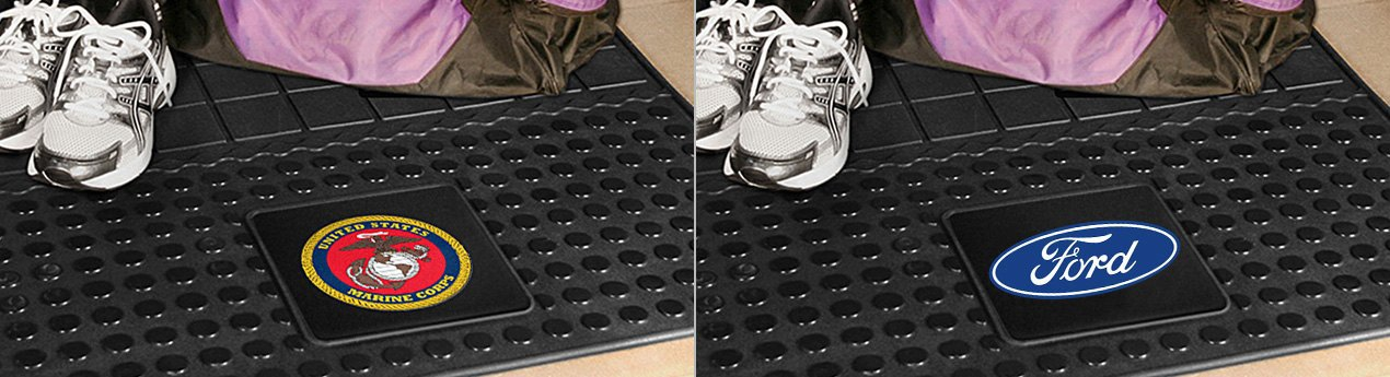 FanMats Vinyl Cargo Mats With Different Logos