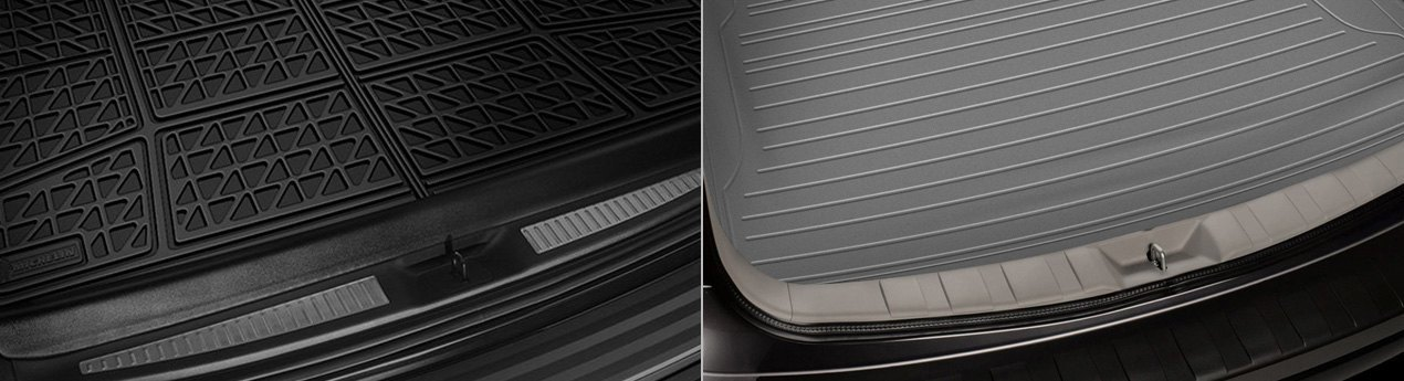 Michelin EdgeLiner And Rubber Queen Flat Edges Cargo Mats