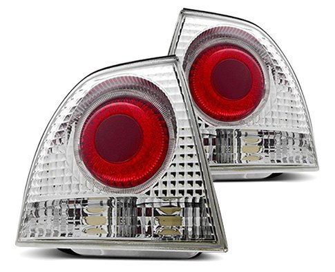 Euro Tail Lights With Halo Rings By Winjet