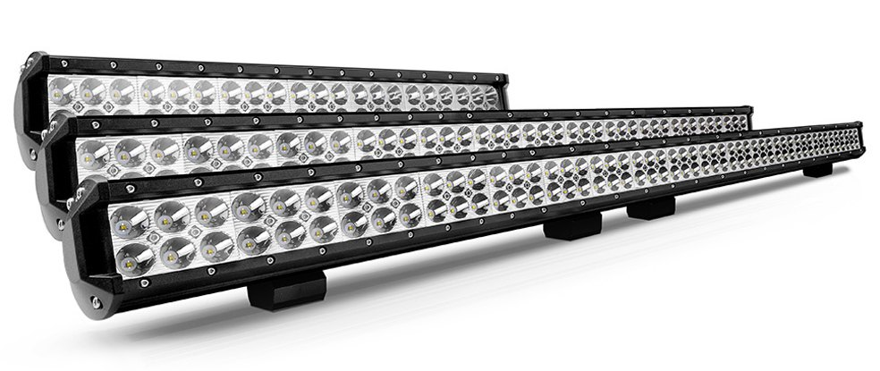 Lumen Dual Row Long LED Light Bar