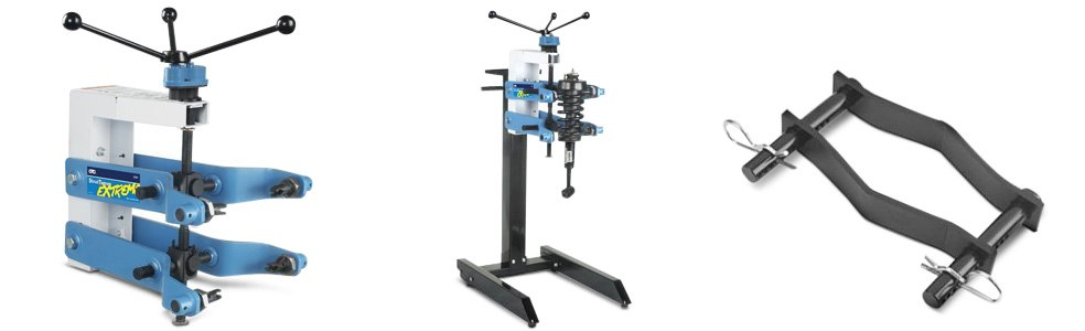 OTC Strut Tamer Spring Compressor By Itself And With Its Own Portable Stand