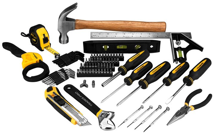 Trades Pro 100-piece Home Tool Set