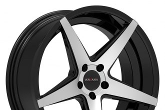 ARVANO® - VEVA Gloss Black with Machined Face