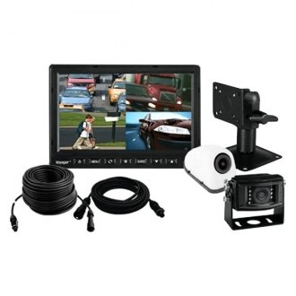 "ASA Electronics® - Voyager™ Rear View System with 7"" Monitor with 2 Surface Mount Cameras"