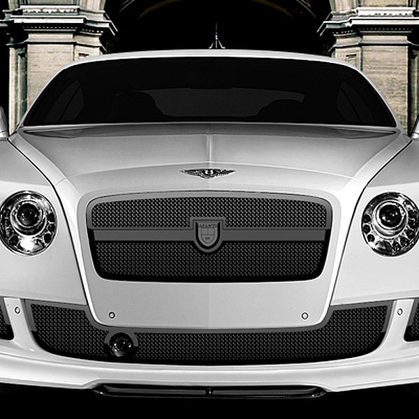 Image may not reflect your exact vehicle! Asanti® - Bentley Continental GT 2012 Verona Mesh Bodystyling Grille Kit, Black