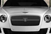 Image may not reflect your exact vehicle! Asanti® - Bentley Continental GT 2012 Verona Mesh Grille, Black