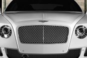 Image may not reflect your exact vehicle! Asanti® - Bentley Continental GT 2012 Verona Mesh Bumper Grille, Black