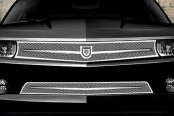 Asanti® - Carta Mesh Bodystyling Grille Kit, Chrome