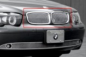 Image may not reflect your exact vehicle! Asanti® - Verona Mesh Grille, Chrome