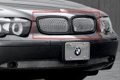 Image may not reflect your exact vehicle! Asanti® - Verona Grille, Black Frame / Chrome Mesh