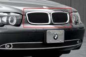 Image may not reflect your exact vehicle! Asanti® - Verona Grille, Chrome Frame / Black Mesh