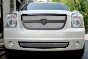 Asanti® - Verona Mesh Bodystyling Grille Kit, Black Frame / Chrome Mesh