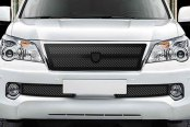 Asanti® - Verona Mesh Bodystyling Grille Kit, Black