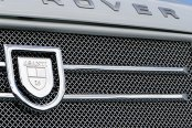 Asanti® - Range Rover 2012 Catalina Grille, Chrome Accents / Chrome Mesh