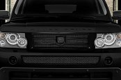 Asanti® - Catalina Mesh Bodystyling Grille Kit, Black Accents / Black Mesh