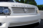 Asanti® - Catalina Mesh Bodystyling Grille Kit, Chrome Accents / Chrome Mesh