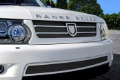 Asanti® - Catalina Mesh Bodystyling Grille Kit, Chrome Accents / Black Mesh
