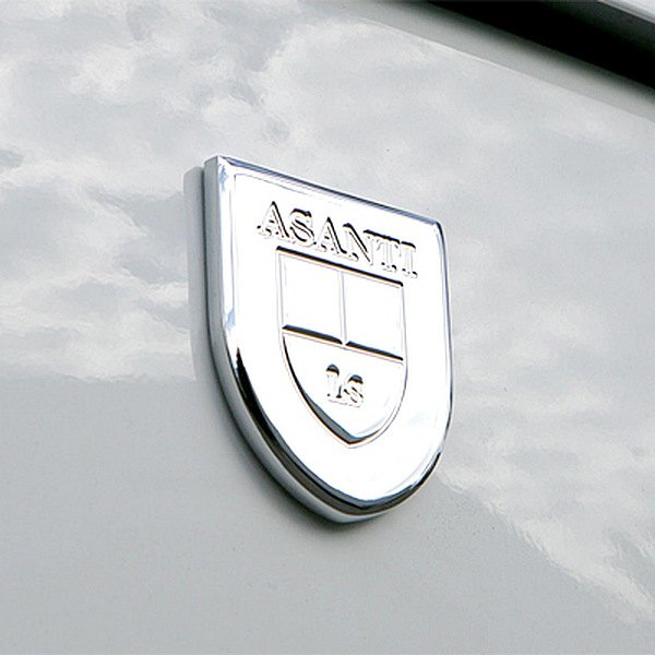 Asanti® - Badge Chrome