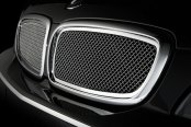Image may not reflect your exact vehicle! Asanti® - BMW 750Li 2006 Mesh Grille, Chrome