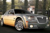 Image may not reflect your exact vehicle! Asanti® - Chrysler 300 2006 Verona Mesh Bodystyling Grille Kit, Chrome