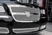 Image may not reflect your exact vehicle! Asanti® - Chrysler 300 2012 Verona Mesh Bodystyling Grille Kit, Chrome