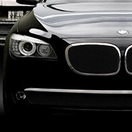 Asanti® - 'Bellano' Bodystyling Grille Kit, Chrome Frame / Black Mesh