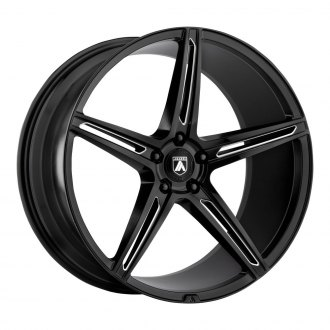 ASANTI® - ABL-22 Gloss Black with Milled Accents