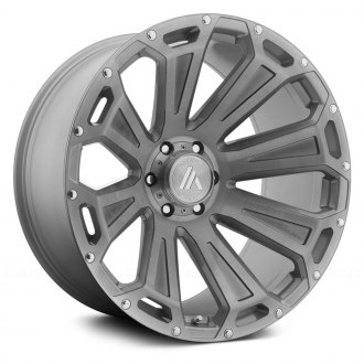 ASANTI Off-Road® - AB813 Titanium Brushed