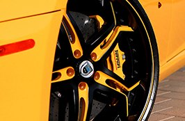 ASANTI® - Asanti 173 Wheels on Ferrari 599