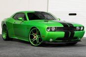 ASANTI® - 173 Custom Painted on Dodge Challenger