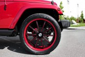 ASANTI® - 501 Custom Painted on Jeep Wrangler