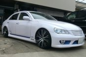ASANTI® - 502 Custom Painted on Toyota Mark X