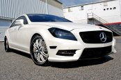 ASANTI® - 504 Custom Painted on Mercedes CLS550
