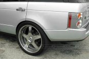 ASANTI® - AF118 Chrome on Land Rover Range Rover
