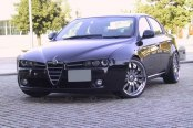 ASANTI® - AF119 Chrome on Alfa Romeo Brera