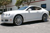 ASANTI® - AF120 Chrome on Bentley Continental GT