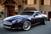 ASANTI® - AF122 Chrome on Aston Martin DB9