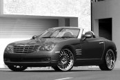 ASANTI® - AF122 Chrome on Chrysler Crossfire